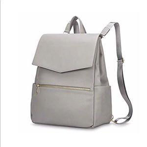 Handbags - Gray diaper bag backpack